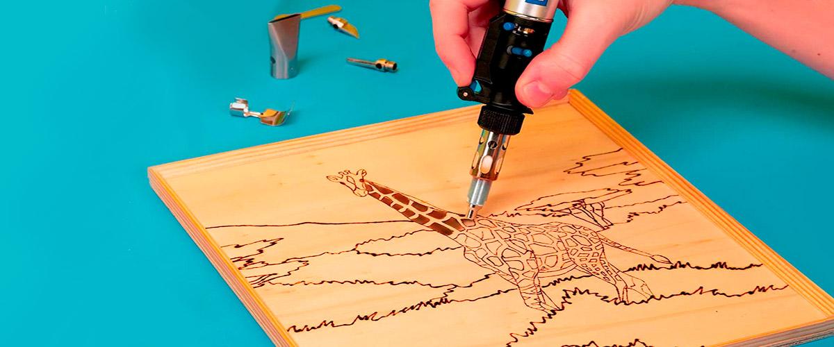 mejores pirografos amazon para grabadar en madera, cuero